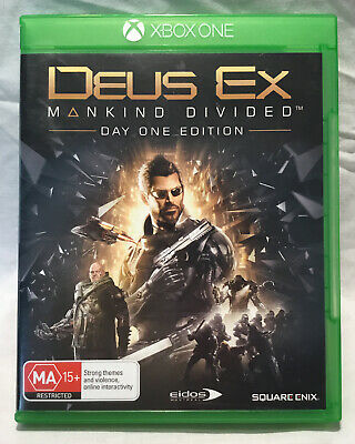 Deus Ex Mankind Divided  - Day One Edition Extra Stuff-  Xbox One - Sci Fi Act