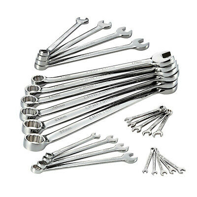 CRAFTSMAN 949827 24-Pc. Full Polish Metric Combi Wrench Set New