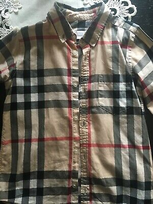 Burberry Boys Shirt Age 6