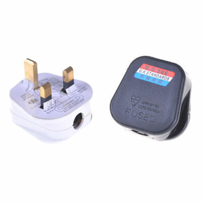 REWIREABLE UK Singapore Rewireable Power Plug 3 Pin Wall  AC100~250V 13A  Fused