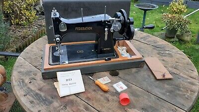 vintage jones? ,federation D53 sewing machine semi industrial  leather canvas