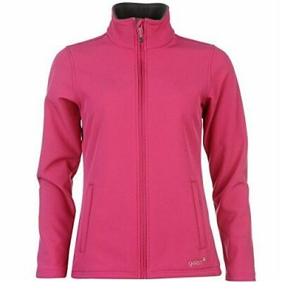 GELERT Girls Pink Soft Shell Full Zip Fleece Lined Jacket 13 Years BNWT