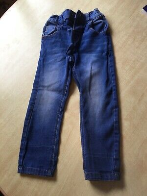 Boy's Next Skinny Jeans 2-3 In Good Used Condition