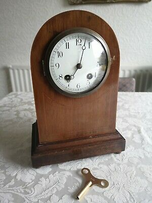 Antique french mantle clock possibly Duverdrey and Bloquel early 1900s vintage
