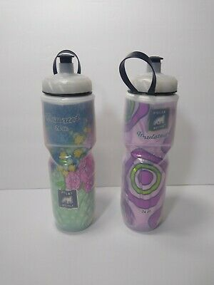 USA 2-Pack Polar RED Insulated 24oz Water Bottles Bike//Hiking Dishwasher Safe