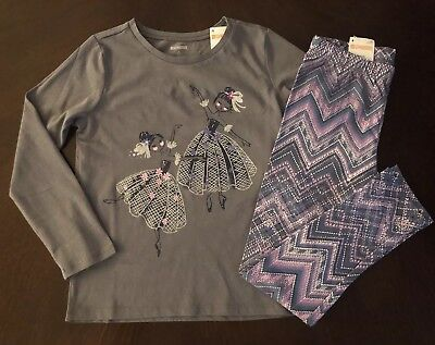 NWT Gymboree Girl Bright Days Ahead Daisy Tee /& Leggings Outfit  7 8 10 12 14