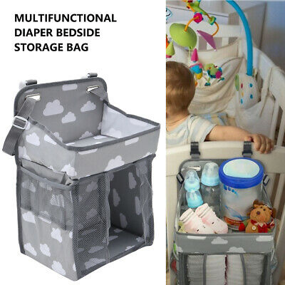 Baby Nursery Bag Hanging Organiser Bedside Tidy Storage Nappies Changing Holder
