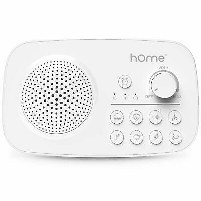 White Noise Machine Portable Sound Machine w/8 Sleep Sounds Plug in or Battery