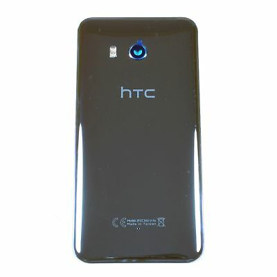 OEM HTC U11 Battery Cover Back Door Case Glass Housing + Rear Camera lens Silver