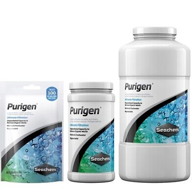 Seachem Purigen Ultimate Filtration for Marine & Freshwater Aquariums  Free Ship
