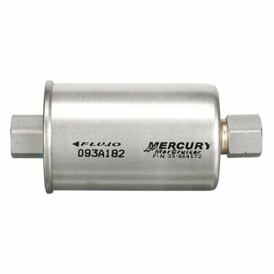 Inline Fuel Filter for Mercruiser MPI V8 Engines Replaces 864572 ...