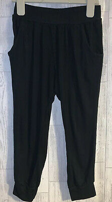 Girls Age 7 (6-7 Years) - Next Loose Fit Black Summer Trousers