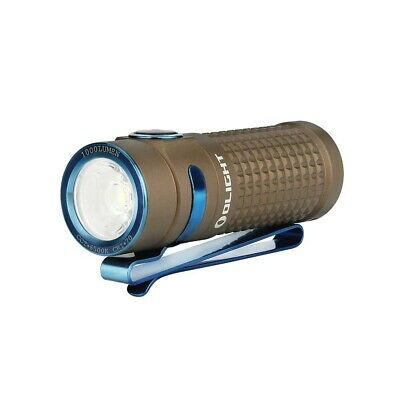 Olight S1R Baton II desert tan limited edition LED pocket torch