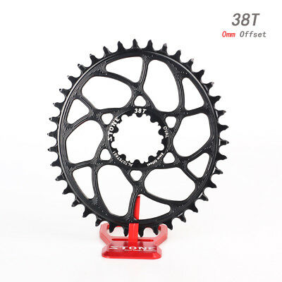 Mountain Bike Bicycle Racing Double Oval Chainring 35T BCD 110mm For Fastlink