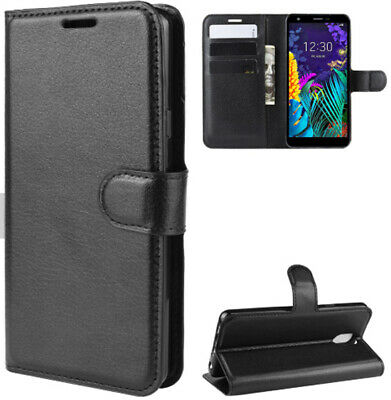 For LG K30 2019 Phone Case, Cover, Wallet, Slots, Litchi PU Leather / Gel