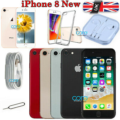 256GB 64GB NEW Apple iPhone 8 8G ALL Colours Unlocked SIM Free Mobile Smartphone