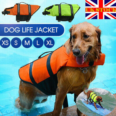 Large Water Woofer DFD Dog Life Jacket Lilac