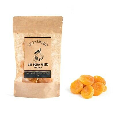 100% Natural Sun Dried Fruit - Apricot - With Love From Nature - Healthy Food