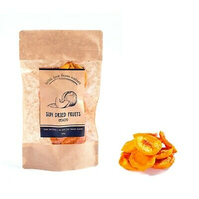 🍑 100% Natural Sun Dried Fruit - Peach - With Love From Nature - Healthy Food