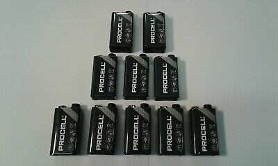 "10 x Duracell 9V PP3 Industrial PROCELL Batteries Smoke Alarm ""FREE UK POST"""