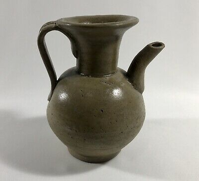 Chinese Tang Five Dynasty Yue Ware 10th Century Celadon Ewer Free Shipping