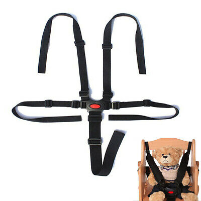 5 Point  Baby Safety Harness Stroller Baby High Chair Pram Buggy Car Belt Strap`
