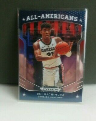 Rui Hachimura All American Rookie Prizm Rc No 84 🔥Gonzaga penny and top loaded