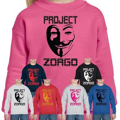 Project Zorgo Gaming Jumper Pullover CWC Chad Wild Clay PZ1 Kids Gift SweatShirt