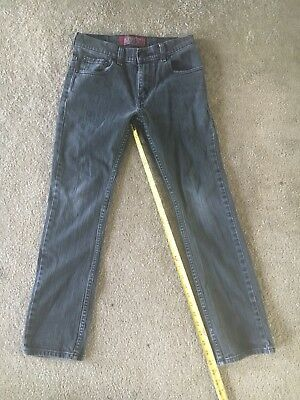 Boys LEVI'S 511 skinny jeans size 14reg 27x27 great condition dark grey