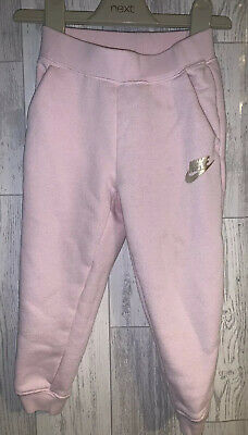 Girls Age 2-3 Years - Nike Pink Jogging Bottoms