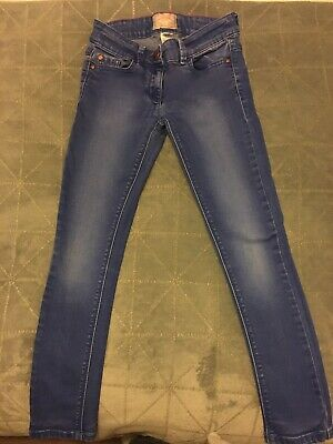 Girls Blue Skinny Jeans From Next Age 9