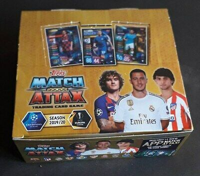 Match Attax Champions League 2019/2020 BOX 30 packs IBERIAN EDITION topps