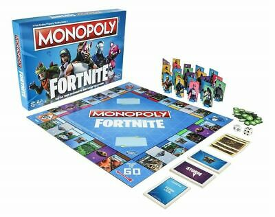 Monopoly Fortnite Edition Hasbro Parker Brothers New Factory Sealed