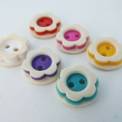 12 COLOUR 14mm Two Layer Button Small Shirt Baby Flat Cuff Retro Child Buy 2 4 8