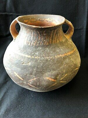 ANCIENT CHINESE NEOLITHIC PAINTED POTTERYJAR, ca. 2500 BC FREE SHIPPING