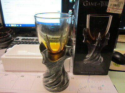 GAME OF THRONES DRAGON CLAW GOBLET WINE WHISKEY BEER Dragons Fantasy Gothic CUP