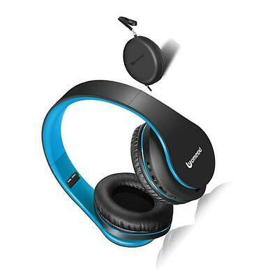 Bluetooth Over Ear Headphones, Uomeod Foldable Wireless and Wired Headset.