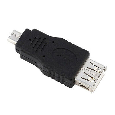 10X(Micro USB Male to USB A Female Adapter W2G7)