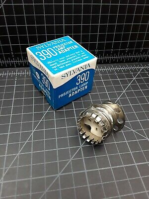 Sylvania 390 Projector Lamp Adapter Projection Light Bulb Bell & Howell 16mm