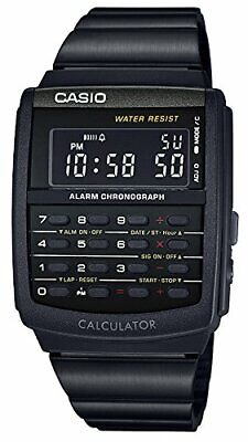 New CASIO STANDARD Digital Watch CA-506B-1AJF Multifunction Black