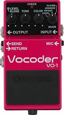 BOSS VO-1 Vocoder NEW Guitar Effects Pedal w/Tracking