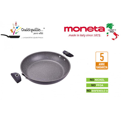 Moneta Hercules Tegame 2 Manici Adatto In Forno Fino 250° Qualità Extra Made In