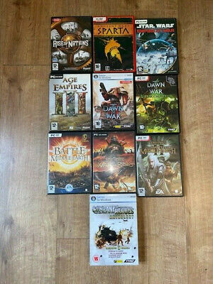 Pc 10 X Mixed Game Bundle
