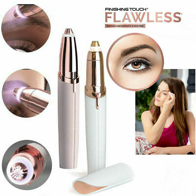 Flawless Women's Brows Trimmer Electric Eyebrow Hair Removal The Finishing Touch