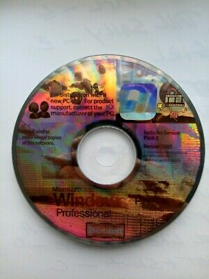 Microsoft Windows XP Professional with Service Pack 2 (SP2) No key