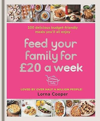 Feed Your Family For £20 a Week by Lorna Cooper New Paperback Book