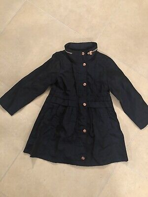 Ted Baker Girl's Coat/Raincoat/Jacket Age 7 Immaculate Condition!