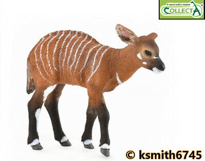 CollectA GIRAFFE /& CALF solid plastic toy wild zoo African animal NEW
