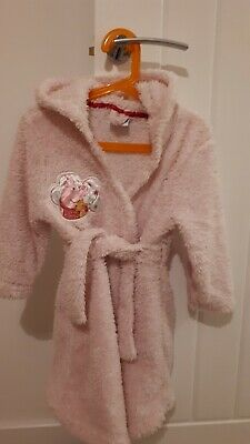 Used Girls Peppa Pig Dressing Gown, Age 3-4 Years, Excellent Condition