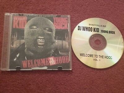 "DJ Whoo Kid -Young Buck ""Welcome To The Hood"" Vol.1 CD Shadyville.Biz. MINT RARE"